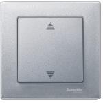 Blind push-button, Aluminium