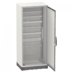 Monoblock enclosure without mounting plate Special SM, 1800x1600x400, 2 plain doors