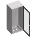 Monoblock enclosure without mounting plate Special SM, 1800x600x400, 1 transparent door
