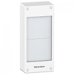 Surface enclosure, Titanium white/Metal grey, 2 x 13