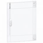 Transparent door Flush/Surface mounting 1 x 13, Crystal