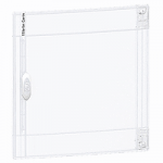 Transparent door Flush/Surface mounting 2 x 18, Crystal