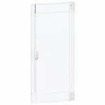 Transparent door Flush/Surface mounting 4 x 13, Crystal