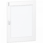 Glass/Metal door Flush/Surface mounting 4 x 24, Crystal