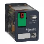 Power relay RPM 2 C/O 24 V AC 15 A with LED
