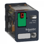 Power relay RPM 2 C/O 48 V AC 15 A with LED