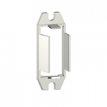 Mounting adapter with fixing lugs for RPM relay with 1 C/O