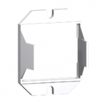 Mounting adapter with fixing lugs for RPM relay with 4 C/O