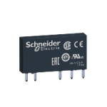 Slim interface relay without socket RSL 1 C/O 12 V DC 6 A