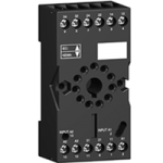 Socket RUM Mixed Screw connector for relay with 3 C/O with cylindrical pins