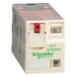 Miniature Plug-in relay RXM 3 C/O 24 V AC 10 A