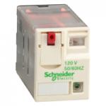 Miniature Plug-in relay RXM 3 C/O 120 V AC 10 A