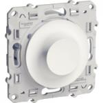 Rotary dimmer 20-420 VA, two-way switch, White