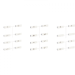 Set of 24 scenario symbols, White