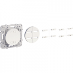 Combined relay 10 A - 2300 W, 3 wires, White
