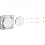 Combined dimmer 20 - 315 W, 2 wires, White