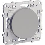 Lightable Switch 10 AX one-way, Aluminium