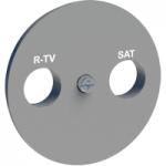 TV/R center plate, Aluminium