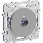 TV socket, Aluminium