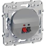 Loudspeaker socket, Aluminium