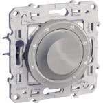 Thermostat 8 A, heat/cool, Aluminium
