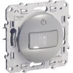 Presence and movement detector 40-350 W, 2 wires, Aluminium