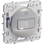 Presence and movement detector 10 A, 3 wires, Aluminium