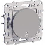 Time delay switch 8 A-1840 W/VA, 2 s to 12 min., Aluminium