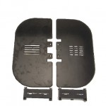 Shroud kit, LV, 630 A, AC 690 V, NH3, IEC