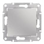 2-pole Switch 10 AX - 250 V AC, Aluminium