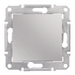2-pole Switch IP44 10 AX - 250 V AC, Aluminium