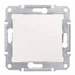 2-way Switch IP44 10 AX - 250 V AC, Cream