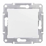 2-way Push-button 10 A - 250 V AC, White