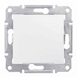 Intermediate Switch IP44 10 AX - 250 V AC, White