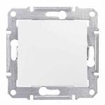 1-way Push-button 10 A - 250 V AC, White