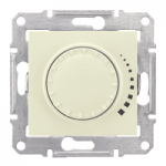 Two-way rotary push-button dimmer RL, 230 V, 60-500 VA, Beige