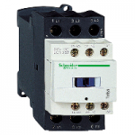 Contactor TeSys D, 3P(3 N/O) 220V DC coil, 32A