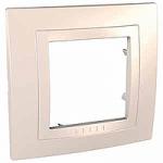Cover Frame Unica Basic, Ivory, 1 gang