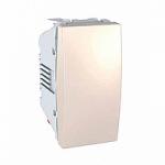 One-way Switch, 1 module 10 AX, Ivory
