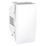 One-way Switch, 16 AX – 250 V, 1 module, White