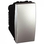 Two-way Switch 16 AX, 1 module, Aluminium