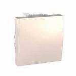 Two-way Switch 10 AX, 2 modules, Ivory