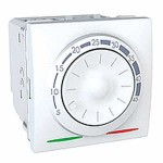 Floor Thermostat 10 A, 2 modules, White