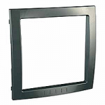 Decorative Frame Unica Colors, Champagne, 1 gang