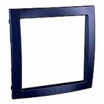 Decorative Frame Unica Colors, Indigo blue, 1 gang