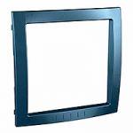 Decorative Frame Unica Colors, Glacier blue, 1 gang