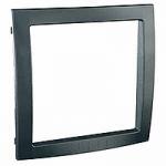 Decorative Frame Unica Colors, Graphite grey, 1 gang