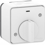 Mureva Styl - mechanical time delay switch - surface mounting - white