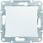 2-way Switch 10 AX - 250 V AC, White