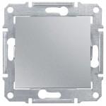2-way Switch 10 AX - 250 V AC, Aluminium